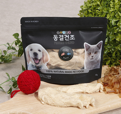 GOONG's freeze-drying dried bonito 40g